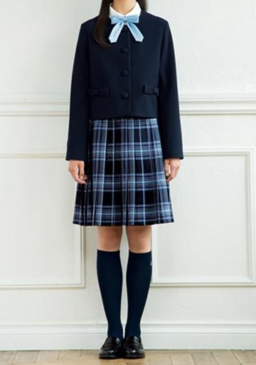 ポンポネットジュニア 中学受験の女子の服装
